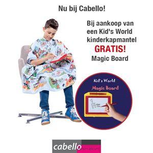 Afbeelding van ACTIE: Kinderkapmantel Kid's World