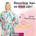 Afbeelding van 2.NIEUW: Kapmantel Pink Flamingo